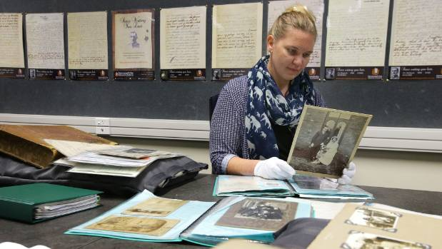 Invercargill City Libraries archivist Rebecca Smith looks into family genealogies and histories gifted to the archive ...