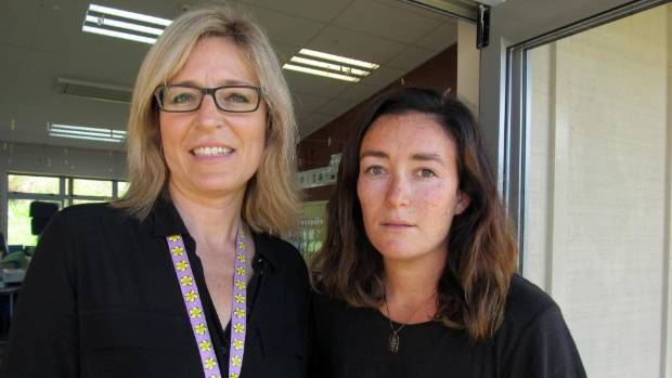 Waiheke Primary deputy principals Melissa Meyers and Olive Campbell said parents had rallied round to help move things ...
