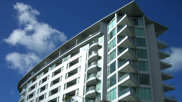 The Nautilus tower building, where unit owners won $24m in compensation against Auckland Council for leaky building issues.
