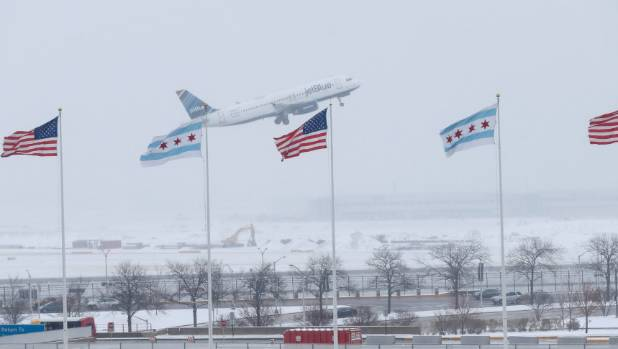Major winter storm causes flight cancellations