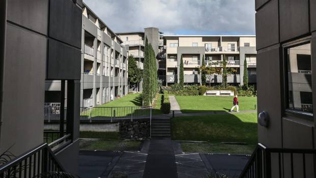 St Lukes Garden apartments, where residents last year launched the largest ever leaky building claim against Auckland ...