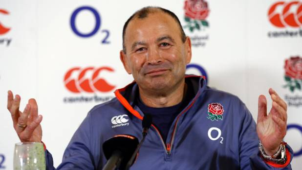 England's Australian coach Eddie Jones rarely misses a chance for a sly shot at his opponents.