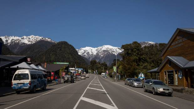 Franz Josef is an example of a small town requiring big spending on water treatment to cater for increasing tourist numbers.