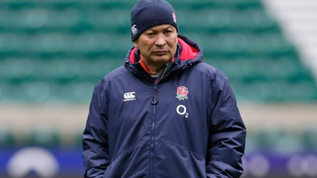 Eddie Jones at Twickenham, where the England Rugby Union hopes to lure the All Blacks.
