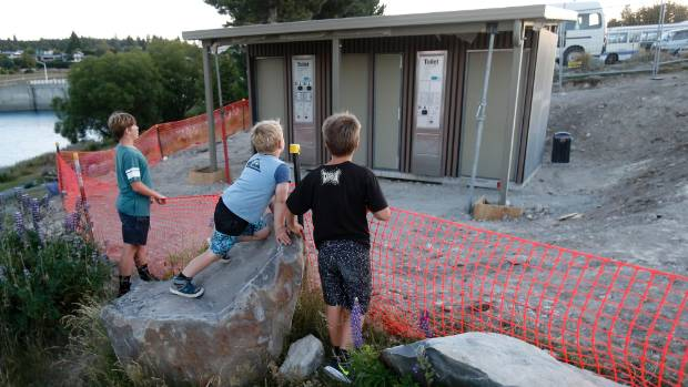 Local authorities wanting to build facilities, such as these new pay toilets at Lake Tekapo, stand to benefit from an ...