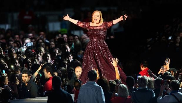 Adele blew fans away at Adelaide Oval in Australia - despite the power problem.