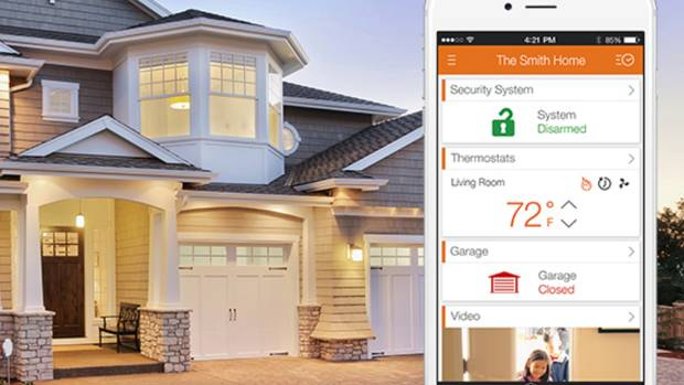 "Alarm.com is part of a wave of companies, big and small, seeking a foothold in the emerging ""connected home"" market."