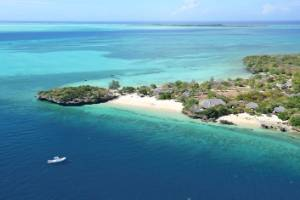 The private island of Quilalea, on a marine sanctuary, is a short helicopter or boat ride from mainland Mozambique.