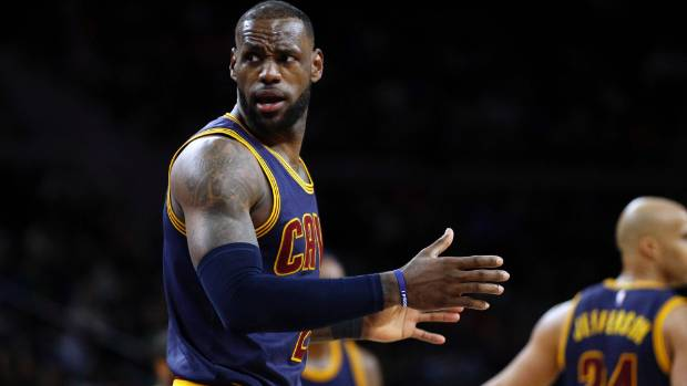 LeBron James was rested alongside Kyrie Irving and Kevin Love in the Cleveland Cavaliers big loss to the LA Clippers