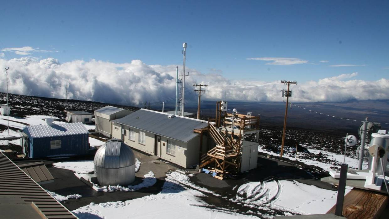 The Mauna Loa Baseline Atmospheric Observatory, where Keeling set up his first continuous measurement.