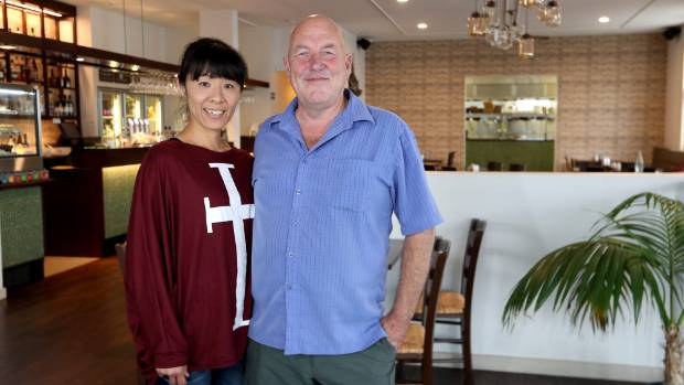 Tony Robertson moved to Nelson with partner Yasuko Abe from Queenstown.