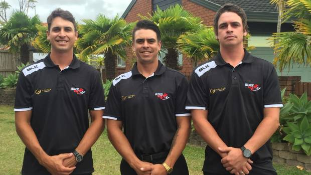 Ben, Thomas and Campbell Enoka will play at the men's world softball championships for the Black Sox.