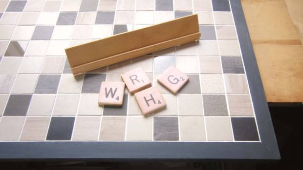 Step 6: Allow your Scrabble board and pieces to dry, then you're ready to play.
