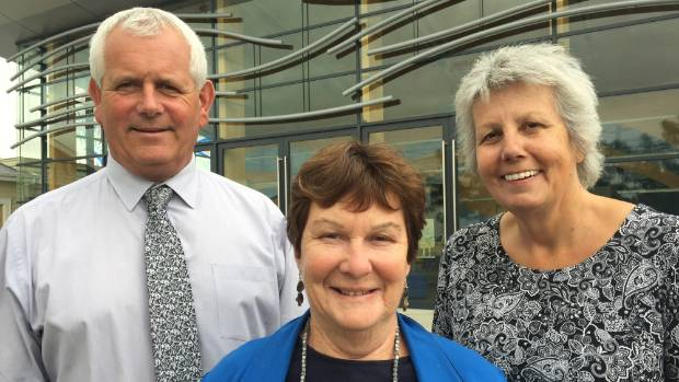 Carterton Mayor John Booth, South Wairarapa Mayor Viv Napier, centre, and Masterton Mayor Lyn Patterson have all made ...