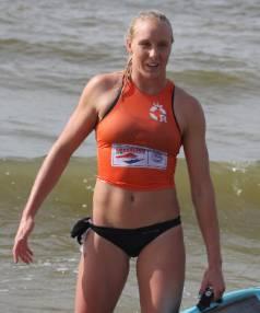 Black Fin Danielle McKenzie won three events in the open women's grade.