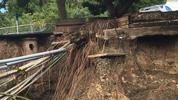 Tracy Mulholland said it was incorrect to call the caved-in footpath a sinkhole.