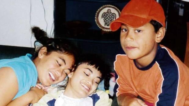 The Fuatai kids: Teuila, Saleima and Fa'asiu.