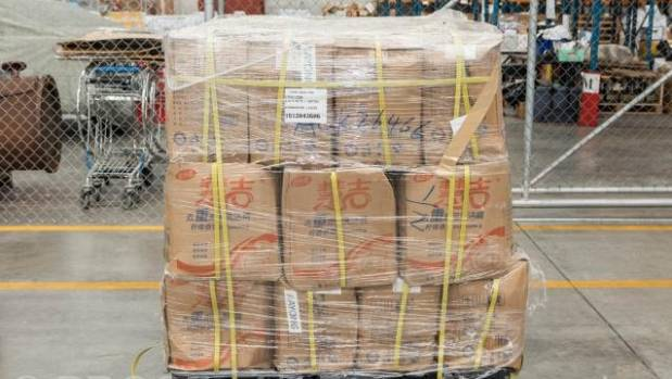Police seize meth imported in new form