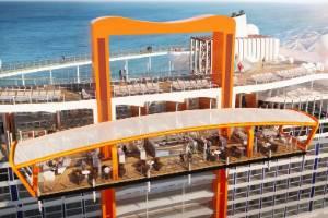 Magic Carpet bar on Celebrity Cruises' new Celebrity Edge ship.