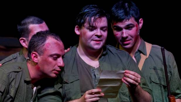 Voices From The Front is based on actual letters sent home from the front-line as well as memoirs of Kiwi Gallipoli ...