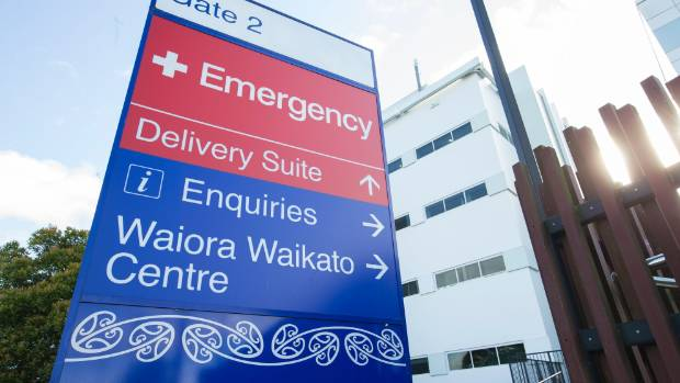 Cameron Morgan says safety measures at Waikato Hospital (pictured) are lacking.