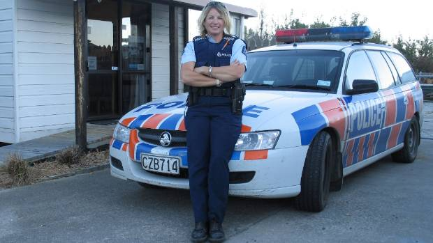 Middlemarch senior constable Helen Fincham-Putter is throwing all the weight of the police and its forensic services ...
