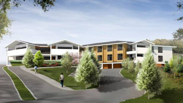 The new facility will boast a 72-bed home and 57 retirement units.