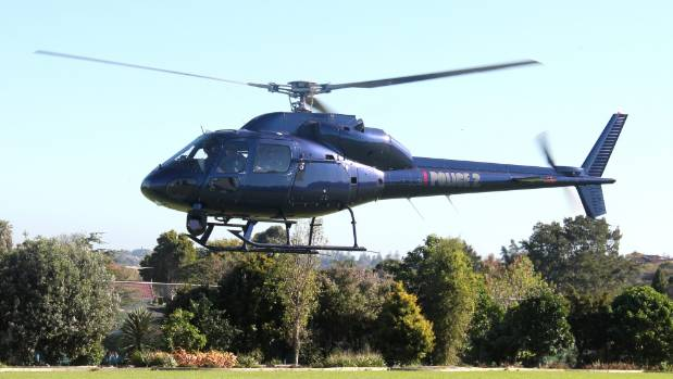 The Eagle helicopter made an emergency landing in Avondale's Riversdale Reserve (file photo).