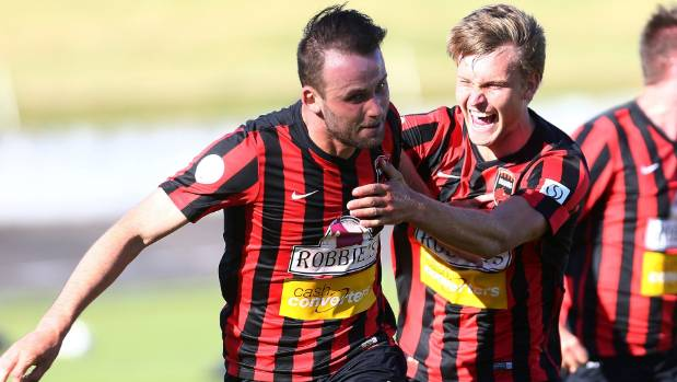 Canterbury's Stephen Hoyle, left, hasn't been able to celebrate as much as he would like this season.