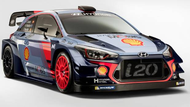 Hyundai's new-generation WRC racer picks up styling cues from production i20. Won't help your Cross go any faster.