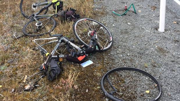 One cyclist was killed and another injured after colliding with a truck near Twizel on Wednesday morning.