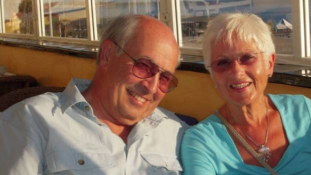 Nigel and Cynthia Charlton, who died in the helicopter crash.