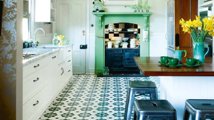 The encaustic tiles in this Wellington villa are by French manufacturer Winckelmans. The owners took & Your guide to choosing tiles for the home | Stuff.co.nz