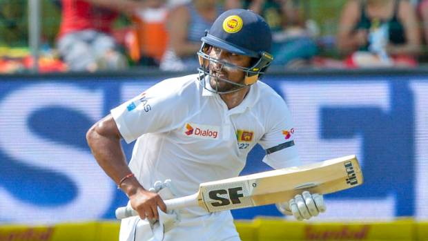 Sri Lanka batsman Dinesh Chandimal led the day one recovery against Bangladesh.