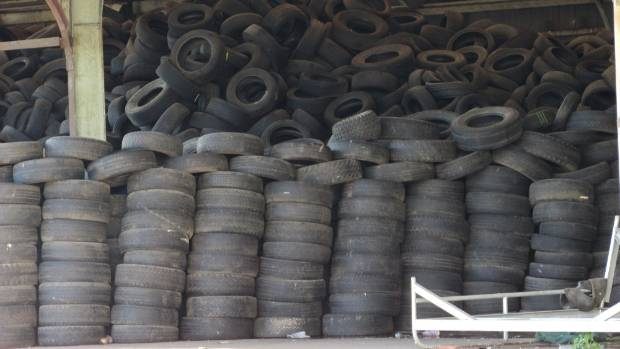 Used tyres stockpiled at a Frankton property in 2015 lumped ratepayers with a $250,000 clean up bill.