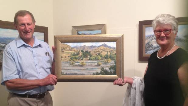 Gladstone Station owners Alan and Bev Pitts have been honoured by the Marlborough Tramping Club with a portrait of their ...