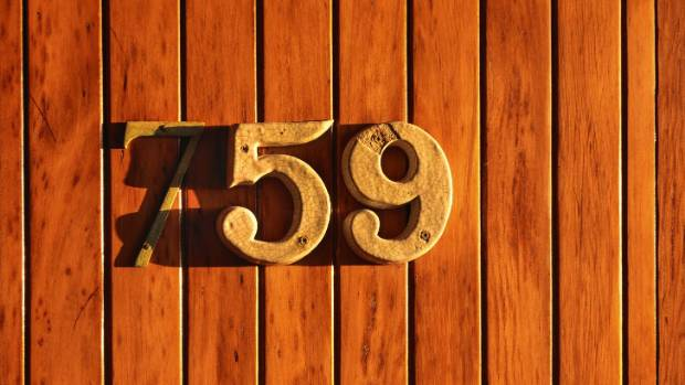 The street address was previously 59 before being renumbered to 759 by the council.