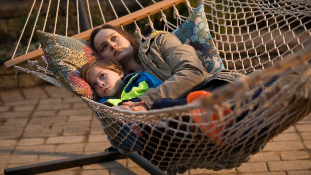 Brie Larson and Jacob Tremblay in the movie Room.