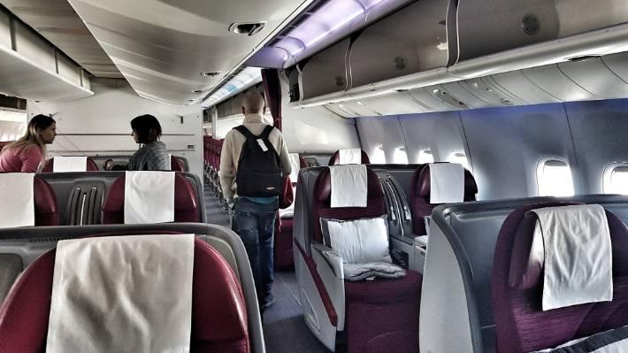 Flight Test Auckland To Doha On Qatar Airways 777 200lr Stuff Co Nz