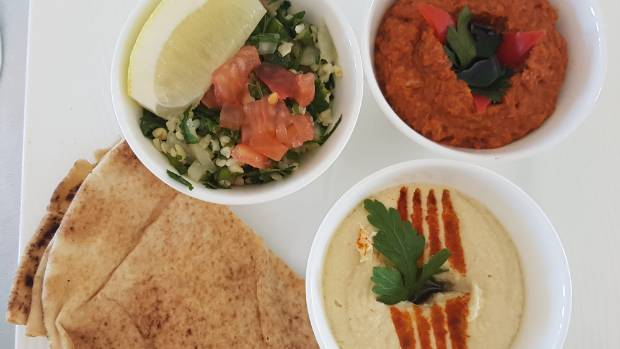 TheArabian mezze was fresh and flavourful.