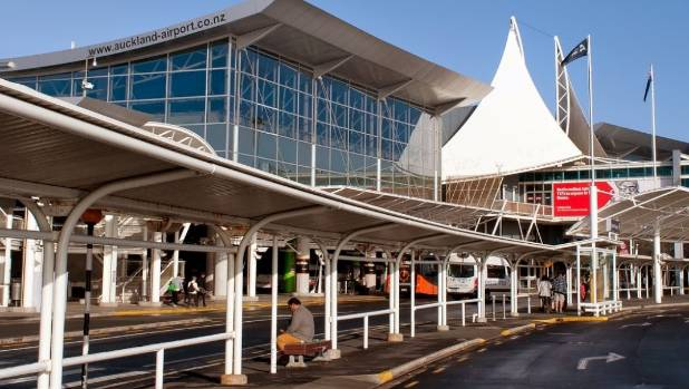 The ground floor of Auckland Airport's international terminal was evacuated just before 6am.
