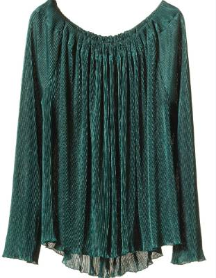 FASHION ED'S FAVE: Sylvester pleated top, $259. It's the colour of this emerald green top by Kate Sylvester's diffusion ...