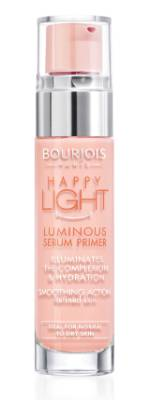 STEAL: Bourjois Happy Light Luminous Serum Primer, $25 This primer is designed to create luminosity to your skin. Team ...