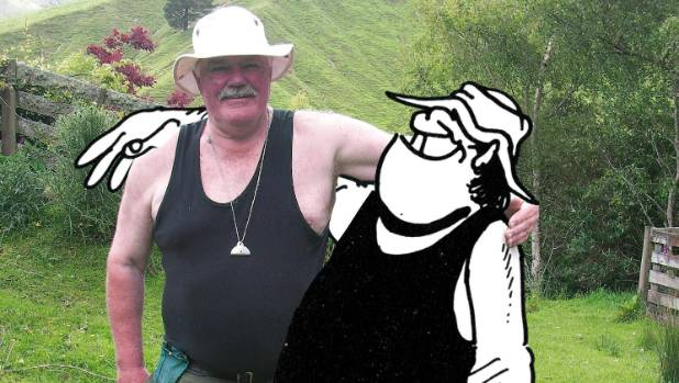 Murray Ball based the character of Wal on his cousin Arthur Waugh, a farmer in North Wairarapa.