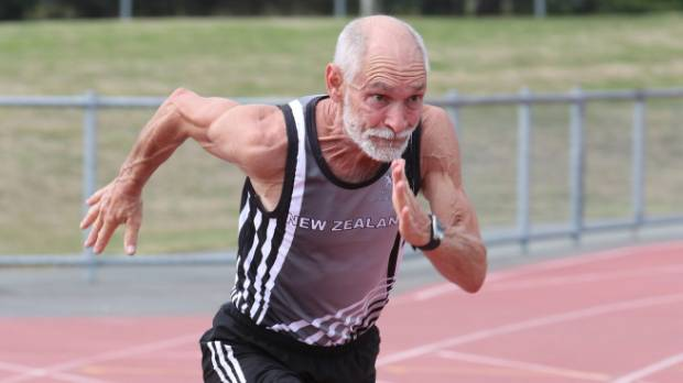 Dave Riddell of Stoke is about to compete at the World Masters Athletics Championships in South Korea.