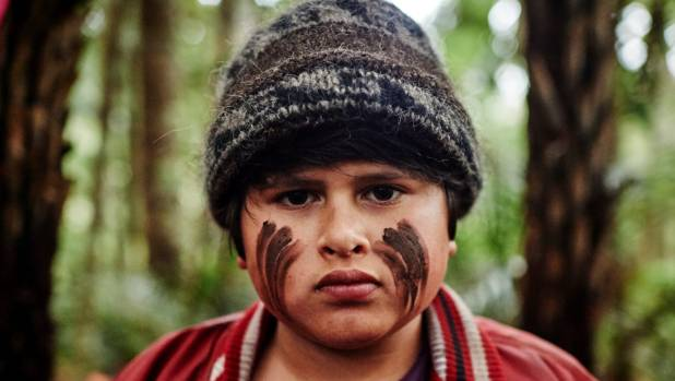 Julian Dennison in Taika Waititi's film Hunt for the Wilderpeople.