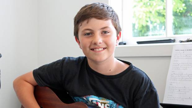 Ben Glanfield, 11, uses his passion for Ed Sheeran music to raise money for charity.