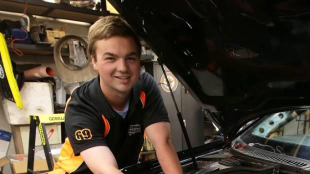 Invercargill driver Liam MacDonald.