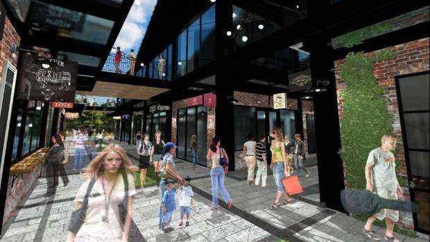 The new farmers market complex has drawn huge interest from tenants, developers say.