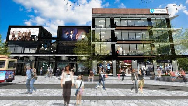 Retail tenants signed include international brands.